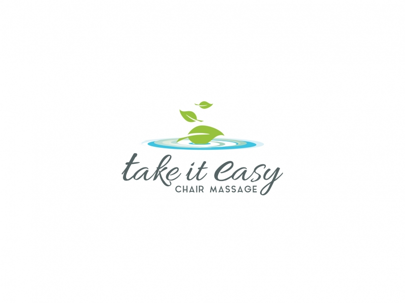 massage therapist logo design  Fisher Design