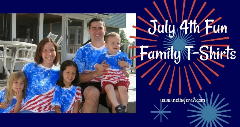 Make your own Fourth of July shirt!