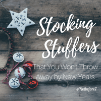 Stocking Stuffers that are Worth the Money
