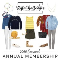 Build a Capsule Wardrobe with the Style Challenge Annual Membership