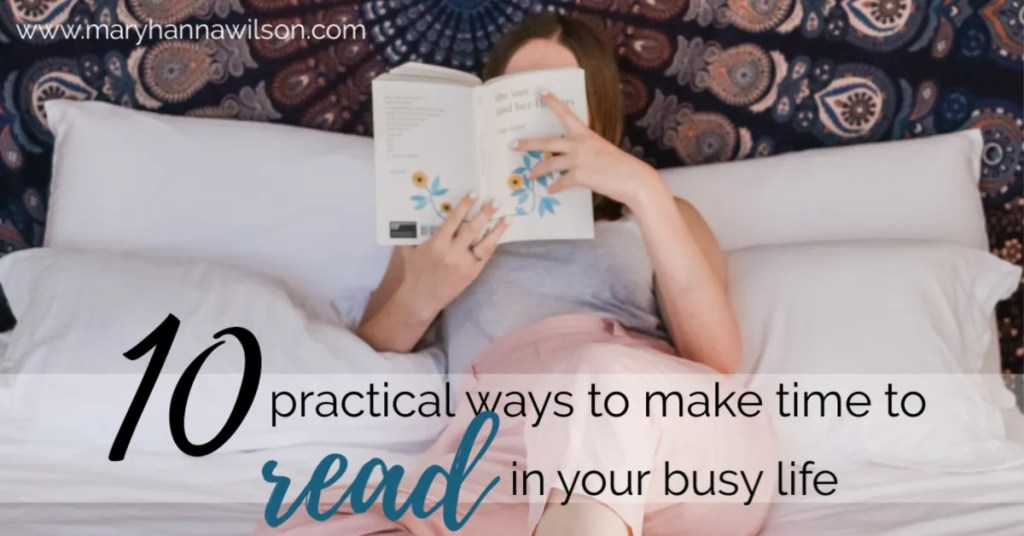 Wondering how to find time to read the books on your summer reading list?