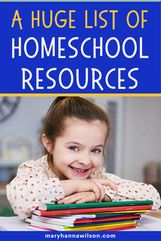 The best homeschool resources for all homeschool families!
