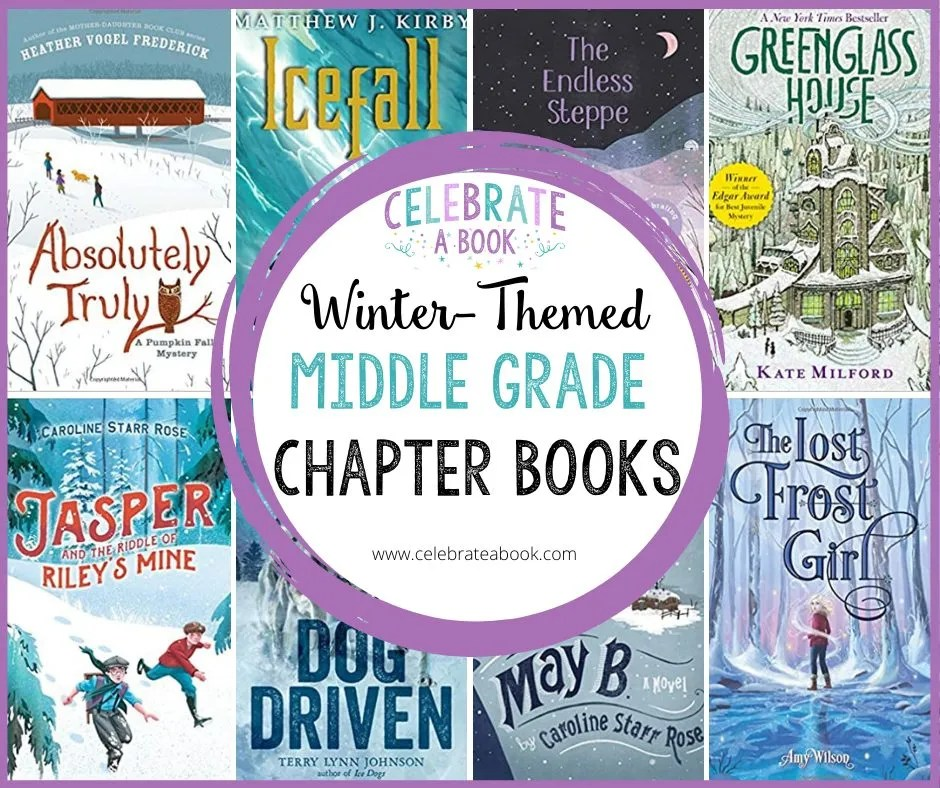 Enjoy these winter books for middle grades this year