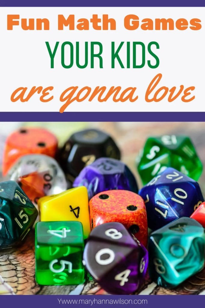 The most fun math games that your kids will love playing.