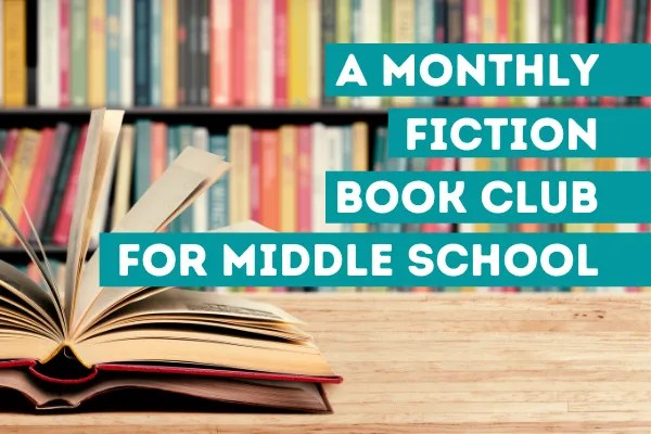 MIddle School Online Book Club for Middle School