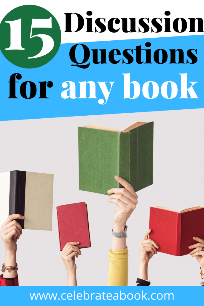 A list of discussion questions for any book.
