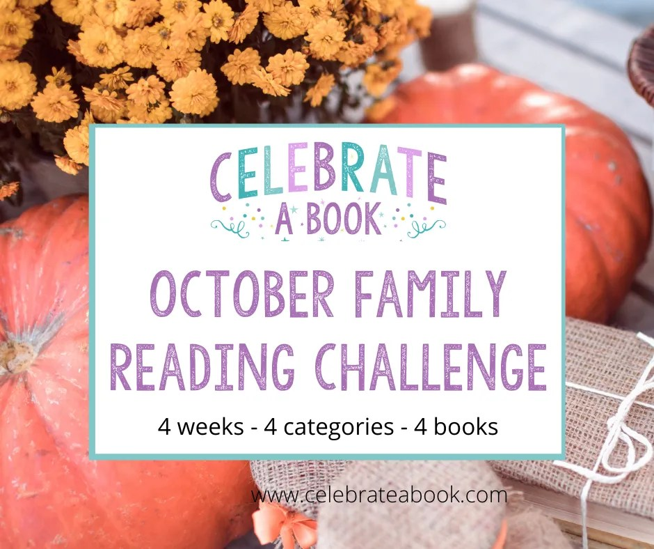 Book Ideas for the October Monthly Reading Challenge