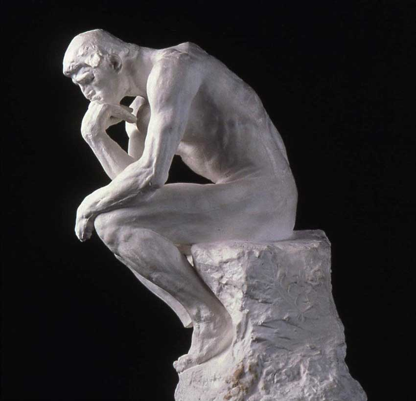 Image result for rodin the thinker