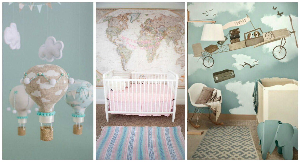 TRAVEL INSPIRED DECO IDEAS THE BABYS ROOM  INSPIRATION