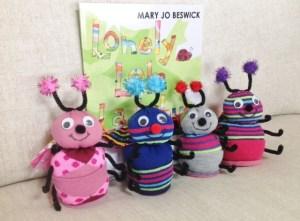 Lola Ladybug Friends & Book