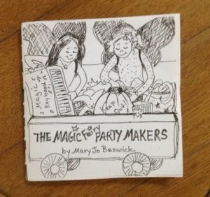 Book Dummy Magic Fairy Party Makers