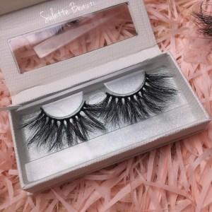 empty custom eyelash box