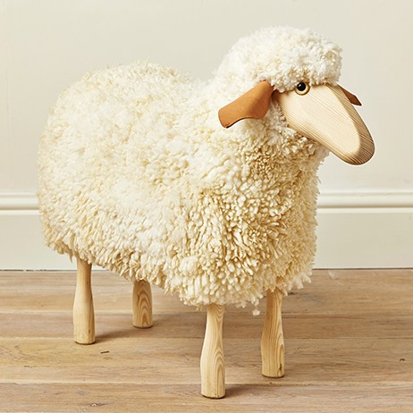 rocking chairs for children red chair covers wedding wooden sheep stool - mary kilvertmary kilvert
