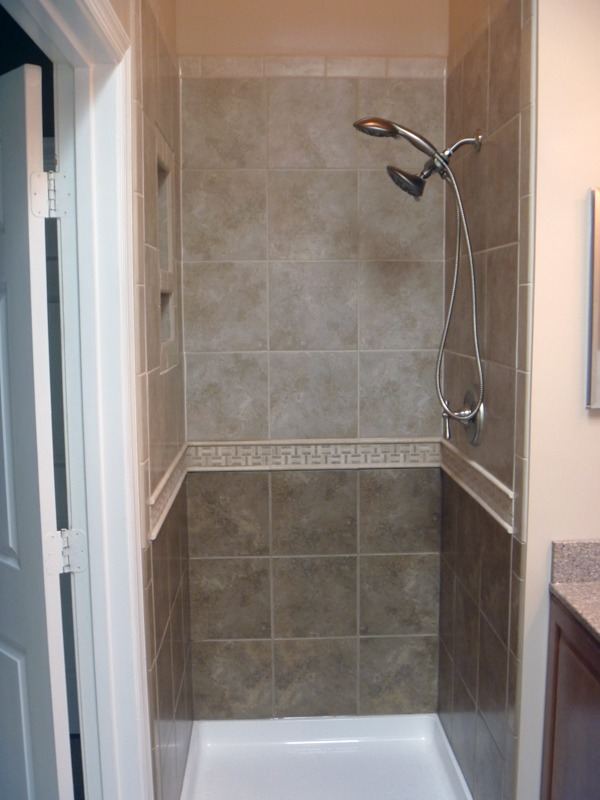 Bathroom Remodel  Two Tone