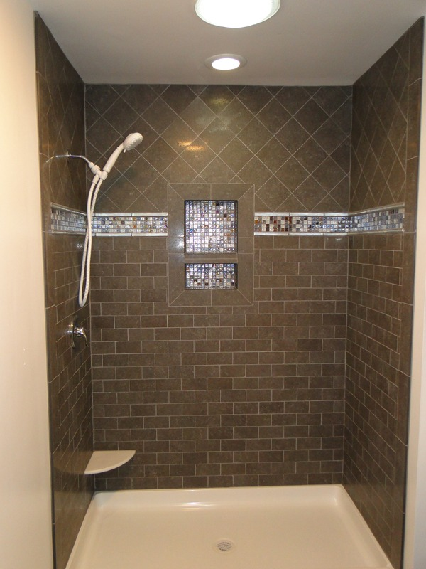 Bathroom Remodel  Vanity and Shower with Nook