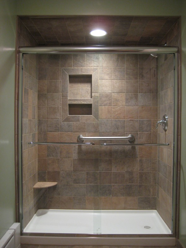 kitchen remodeling silver spring md cabinet styles bathroom remodel - tub to shower #1