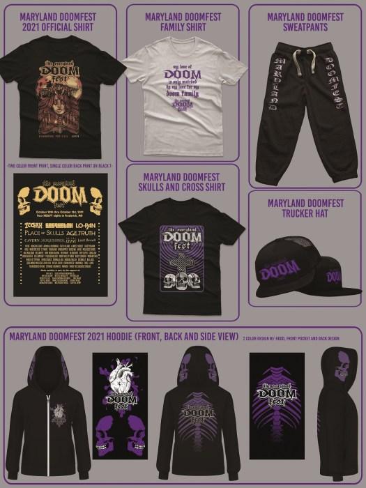 Maryland Doom Fest 2021 Merch