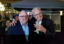 Larry Hogan and Robin Ficker