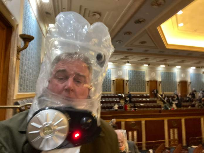 Rep. Trone Describes Chaos of U.S. Capitol Siege – Maryland Matters