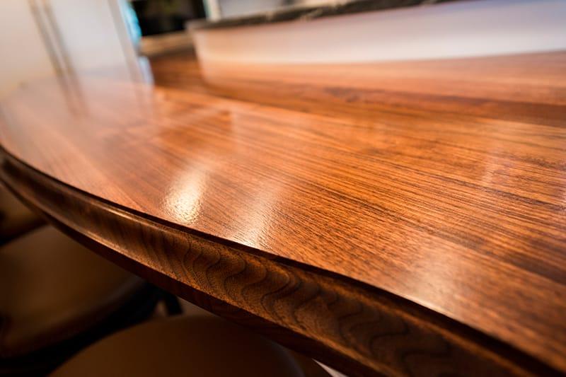 Bookmatched Walnut Island Maryland Wood Countertops