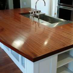 Solid Wood Kitchen Island Diy Islands Mahogany | Maryland Countertops