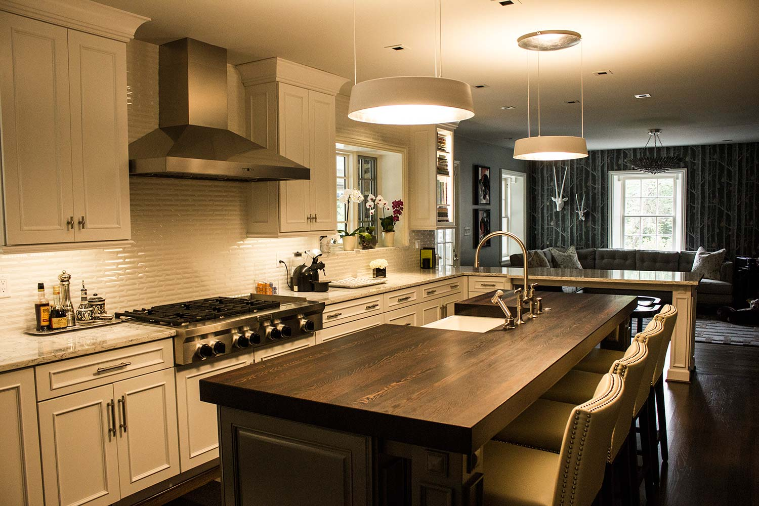 changing countertops in kitchen commercial faucets replace your butcher block island top with a reclaimed