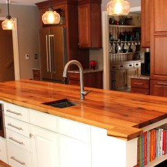 Wood Countertops Kitchen Modern Cabinet Hardware Nothing Completes A Like Custom Reclaimed