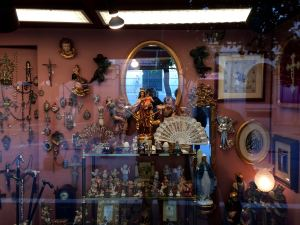 Shop window in Jerez de la Frontera
