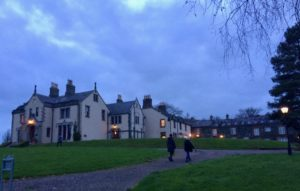 Coming back to Tyrone Guthrie house after an evening walk