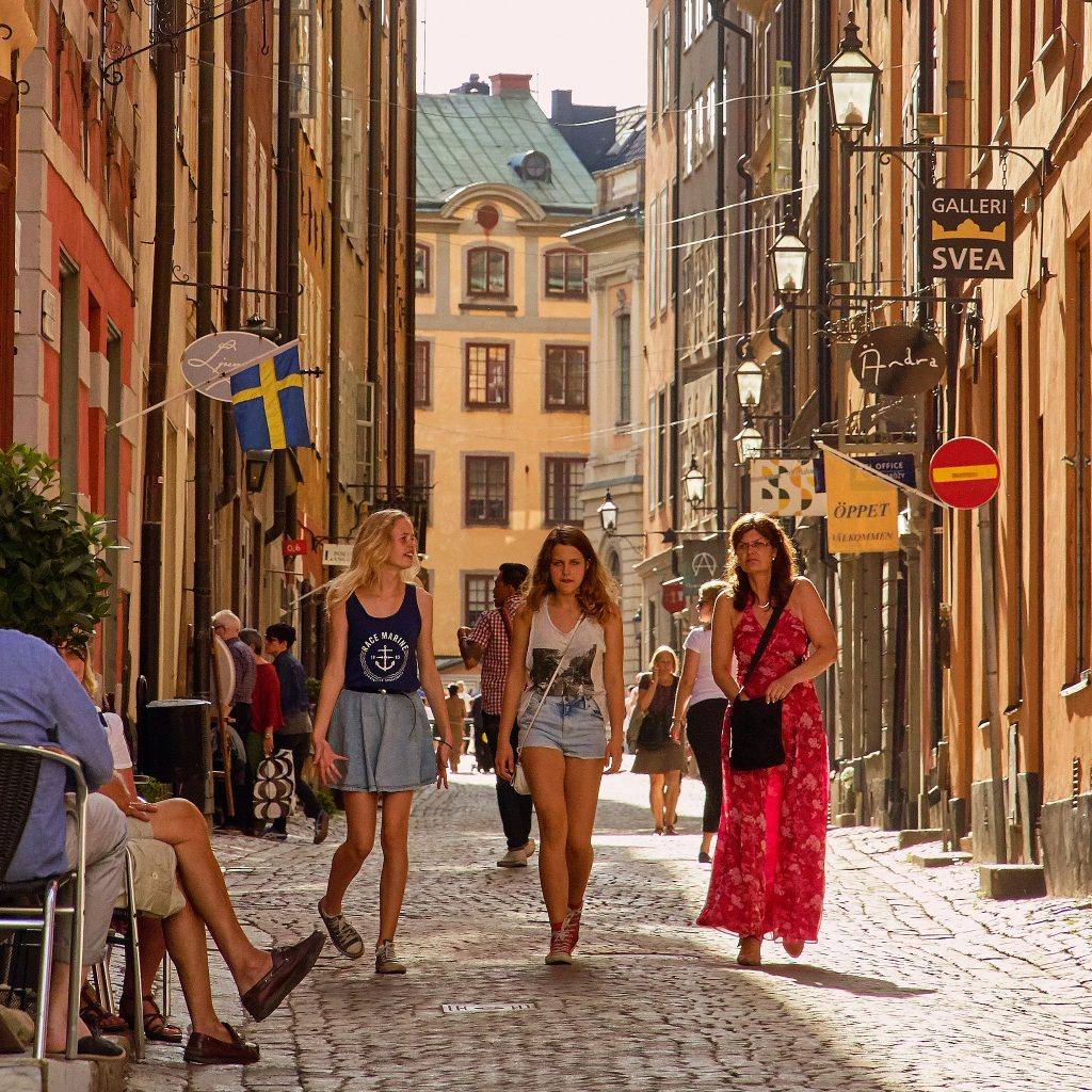 summer vacation in Stockholm