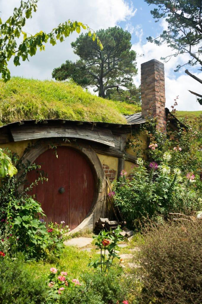 door to a Hobbit house