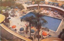 Beverly Hills California Wilshire Hotel Swimming Pool