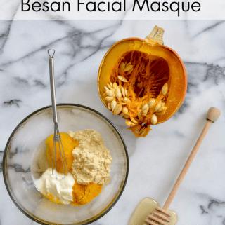 Honey Pumpkin Besan Facial Masque