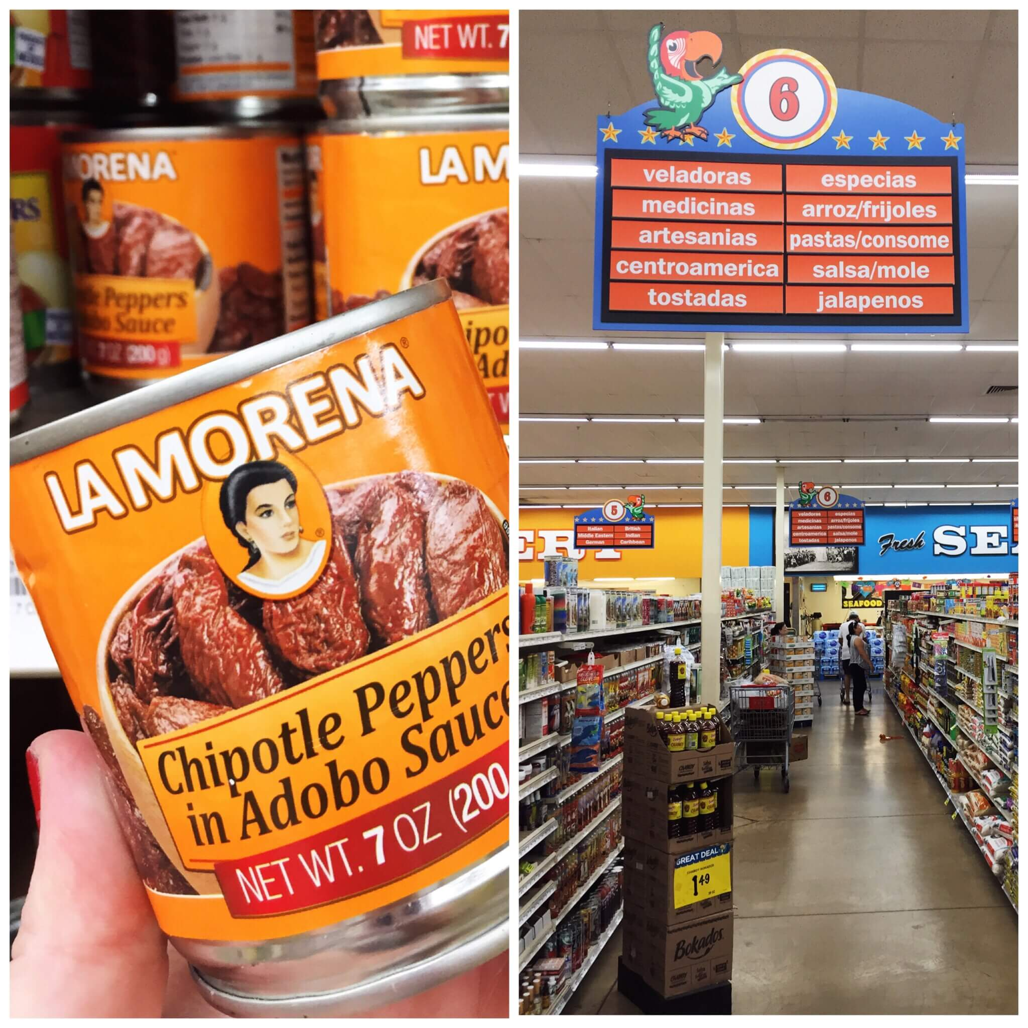 LA MORENA® Chipotle Peppers in Adobo (7oz & 13oz)