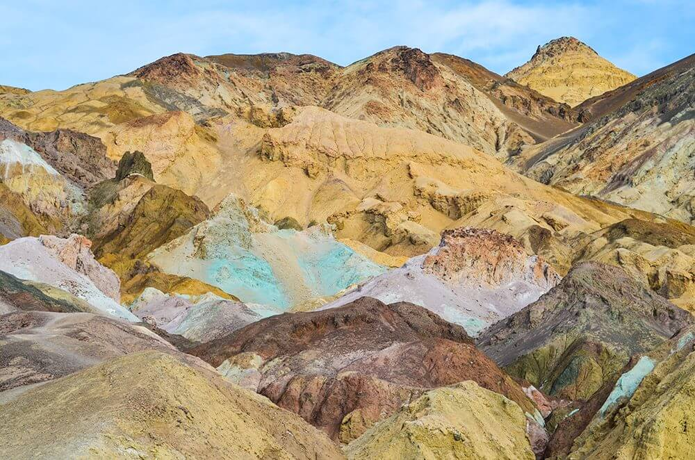 The Artist's Palette - Death Valley National Parkl