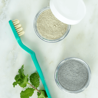 Sweet Spearmint Tooth Powder - Two Ways