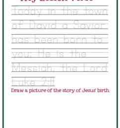 Christmas Worksheets for Preschoolers Jesus' Birth – Mary Martha Mama [ 1056 x 816 Pixel ]