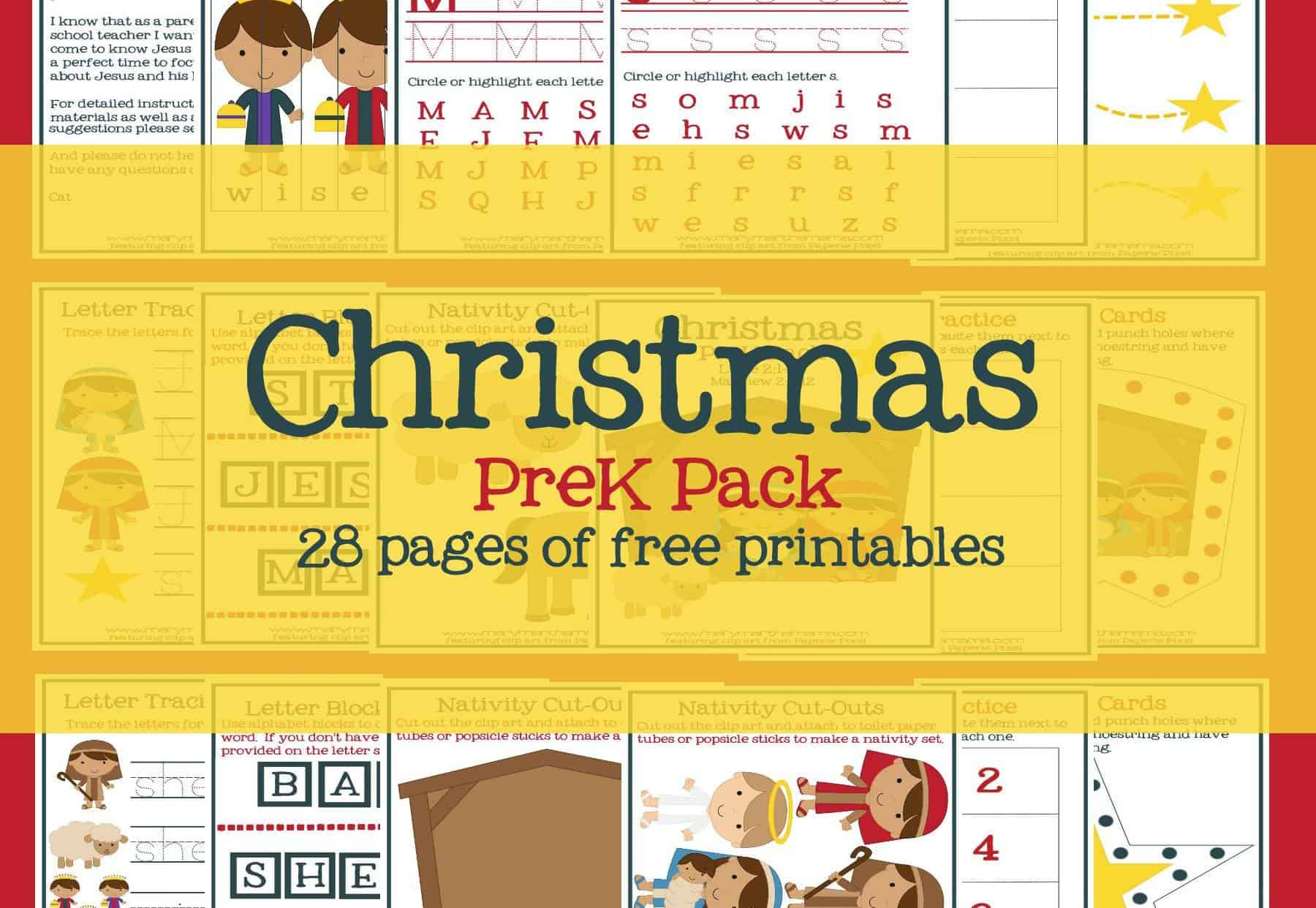 Preschool Printables Archives Mary Martha Mama