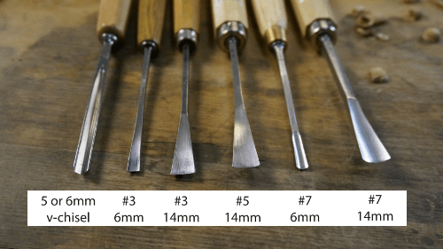 Ashley Iles Chisels For Sale