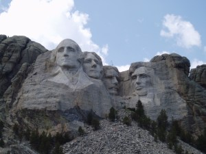 Mt. Rushmore (Four Big Giant Heads)