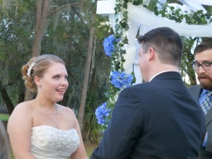 Becca exchanges vows with Mike
