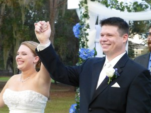 The new Mr. and Mrs. Michael White!