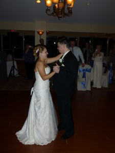 Becca and Mike dance