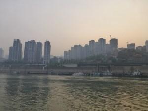Time to disembark! Chongqing in the morning