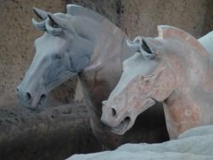 Terra cotta war horses
