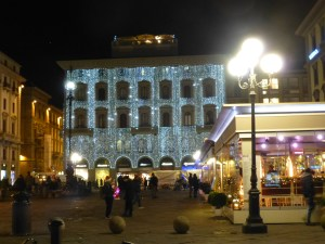 Florence is decorated for Christmas!