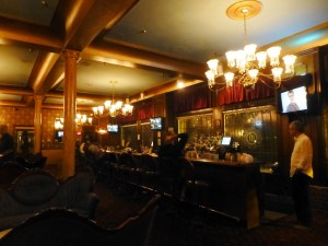 There's only bad food in Tonopah. We settle for bar snacks at the recently renovated Mizpah Hotel.