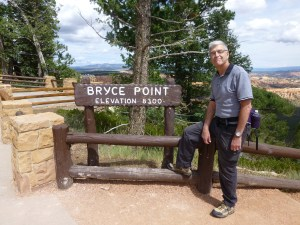 John at Bryce Point
