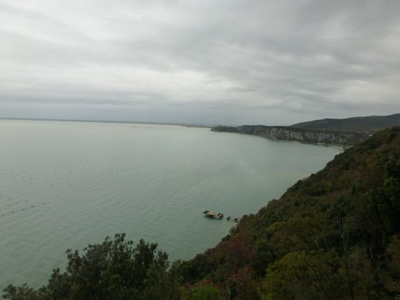 View along the Adriatic coast
