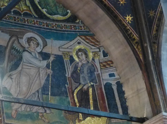 Other mosaics include an Annunciation